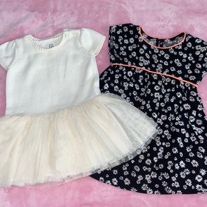 10 piece lot of baby girl clothing. 12-18 months